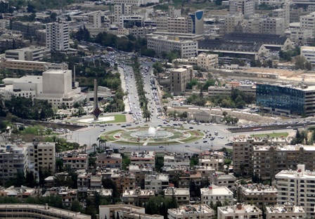 قصف يستهدف السفارة الروسية في دمشق ولا ضحايا
