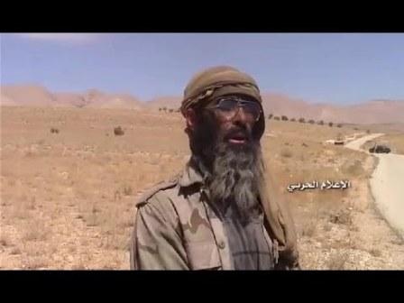بالفيديو... مسلحو داعش يسلمون أنفسهم في جرود الجراجير