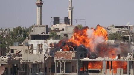 الجيش السوري ينفذ عملية عسكرية واسعة في درعا ويتقدم نحو الحدود الأردنية