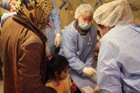 الأطباء الروس منعوا انتشار الأوبئة في حلب