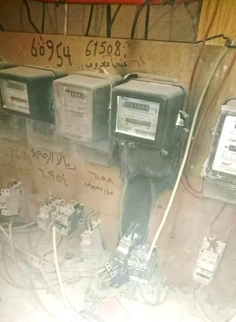 بالصورة ... إخماد حريق ساعة كهرباء في بناية الدندشلي في صيدا
