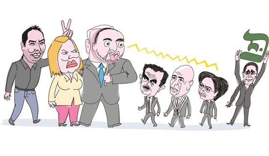 نتنياهو يزداد تطرفاً وهو يصارع للبقاء