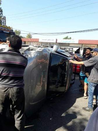 النشرة: اصابة 4 مواطنين بسبب انقلاب سيارة في النبطية الفوقا