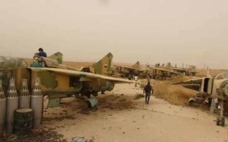 الجيش السوري داخـــل مـــطـــار أبـــو الضهور