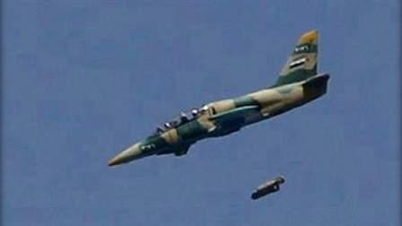الجيش السوري يستهدف بـ 5 غارات تجمعات للنصرة في جرد فليطة