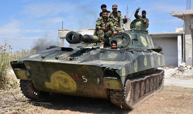 الجيش السوري يدخل الحدود الإدارية الجنوبية لمحافظة إدلب ويحرّر عدداً من القرى