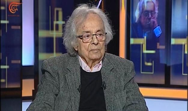 أدونيس للميادين: سوريا تتقدم عندما تصبح دولة مدنية وتجربتي مع الميادين تعادل 20 عاماً