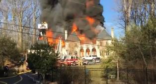 إصابة 13 شخصا في حريق بدار للعجزة في مدينة إركوتسك بسيبيريا