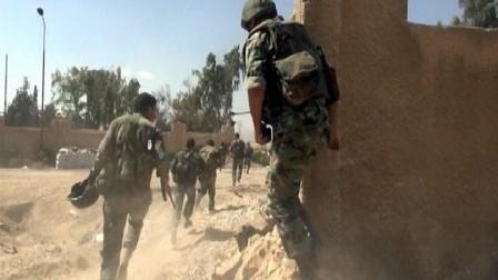 الدفاع الروسية: الجيش السوري استعاد بلدة عقيربات بريف حماة بدعم روسي