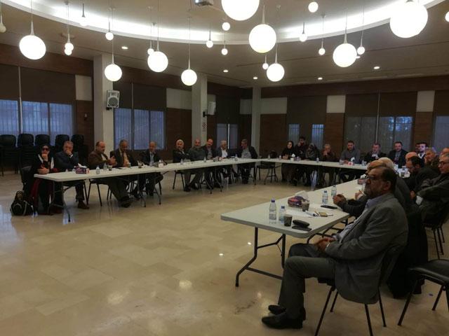 حلقة نقاش أقامتها شؤون اللاجئين في حماس حول أزمة الأونروا وانعكاسها على واقع اللاجئين الفلسطينيين في لبنان