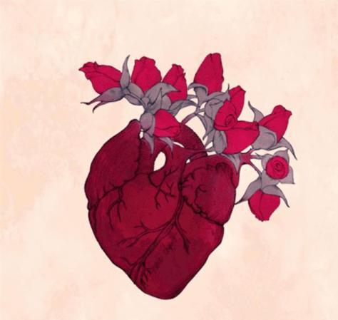 قلبٌ في قبرٍ سوف يزهر