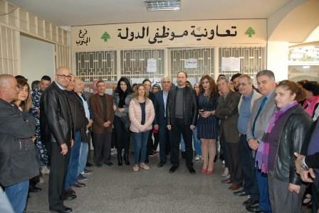 تعاونية موظّفي الدولة تعلن تعليق الإضراب