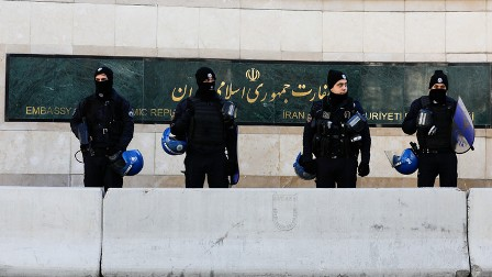 الأمن الإيراني يقضي على خلية إرهابية