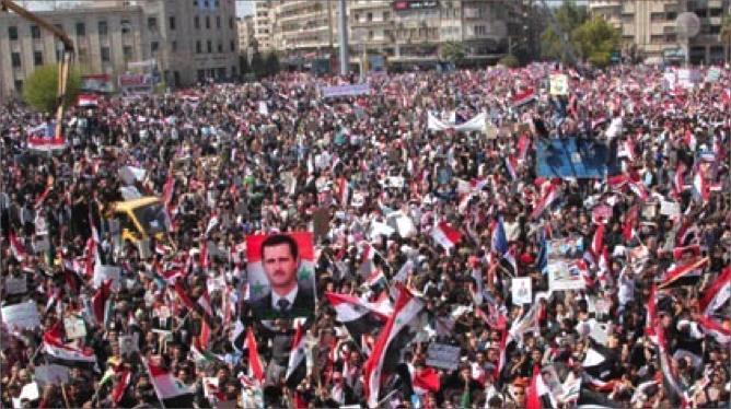 الوجود الأجنبي و تطورات المرحلة اللاحقة في سوريا.