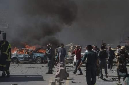 مقتل 3 أشخاص وإصابة 5 بهجوم إنتحاري أمام ملعب الكريكت الدولي في كابول