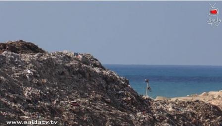 بالفيديو:  جبل النفايات يظهر من جديد في  صيدا والأهالي يرفعون الصوت