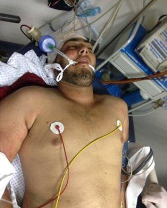 صور الجرحى الذين سقطوا جراء الاشكال في مخيم عين الحلوة