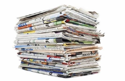 عناوين الصحف الصادرة يوم الأحد 26 تشرين الأول 2014