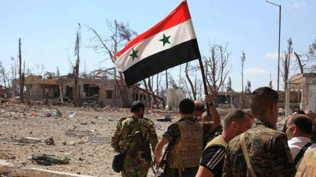 الجيش السوري يستكمل عملياته على ضفتي نهر الفرات بدير الزور