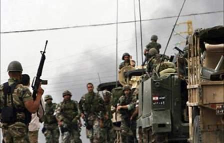 الجيش: 4 طائرات عدوة تخرق الاجواء اللبنانية