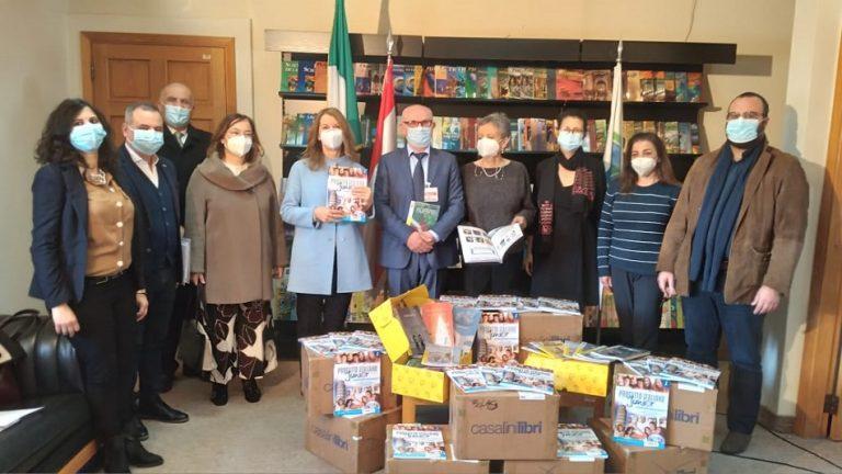 هبة 1200 كتاب من الدولة الايطالية للمركز التربوي للبحوث