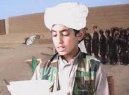 نجل أسامة بن لادن على