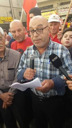 الشيوعي نظم تجمعا في شتورا: لاقرار قانون نسبي يلحظ لبنان دائرة انتخابية واحدة وخارج القيد الطائفي