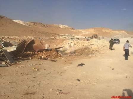 الجيش يعمل على ربط جردي رأس بعلبك وعرسال ويتقدم نحو خربة داوود