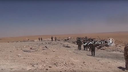 الجيش السوري يستعيد السخنة من