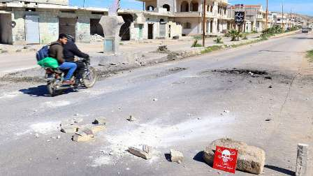 زومجو: السارين استخدم في خان شيخون قبل 5 أيام من قصف الطيران السوري