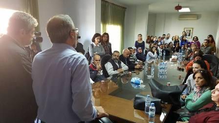 المدارس الخاصة في لبنان تنفذ الاضراب الذي دعا اليه المجلس التنفيذي لنقابة التعليم الخاص