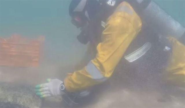 بالفيديو .. بقايا مدينة قديمة تحت الماء في القرم!