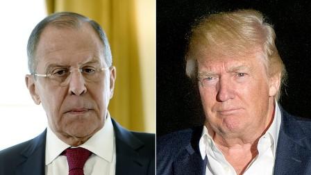 الكرملين يكشف عن مضمون لقاء ترامب-لافروف