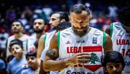 خسارة المنتخب اللبناني بنتيجة 79-78 امام نظيره الصيني ببطولة آسيا
