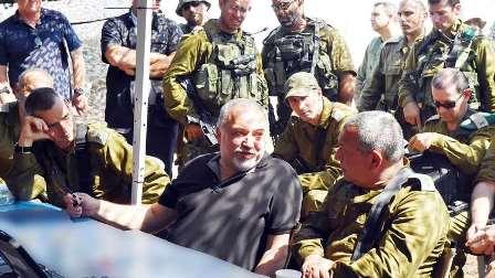 ليبرمان يتوعد حزب الله وريفيلن يتحدث عن حرب