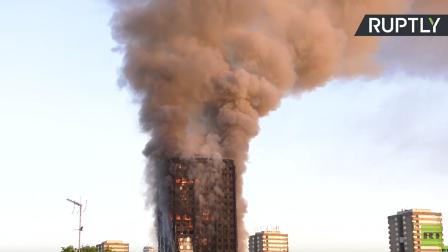 قائد شرطة لندن: 58 شخصا في عداد المفقودين في حريق البرج ونرجح مقتلهم