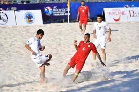 الكرة الشاطئية: فوز كبير للبنان على قيرغيزستان