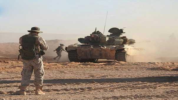 الجيش السوري يسيطر على ''جبل البشري'' الاستراتيجي وبعض النقاط