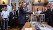 بدء الاقتراع في جولة الانتخابات الفرنسية الثانية.. وحزب ماكرون قد يكتسح البرلمان الجديد
