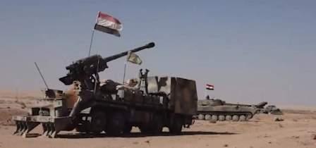 الجيش السوري وحلفاؤه يسيطرون على تلة الكرية بدير الزور