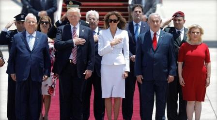 """ترامب يتحدث في تل ابيب عن فرصة نادرة """"لتحقيق السلام"""" في المنطقة"""