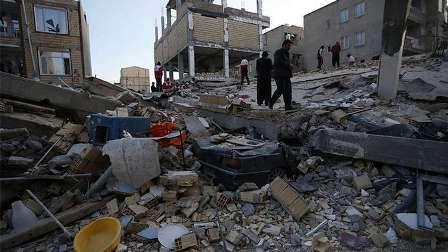 ارتفاع حصيلة ضحايا زلزال إيران إلى 530 قتيلًا و7817 جريحًا