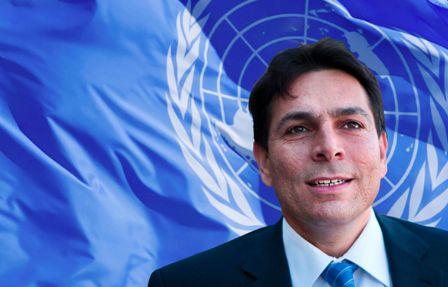 """السفير """"الإسرائيلي"""" في الأمم المتحدة: بت أتبادل التحية والعناق مع بعض سفراء الدول العربية"""