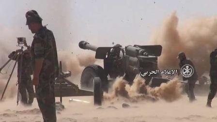 تقدم واسع للجيش السوري وحلفائه في ريف دمشق الجنوبي الشرقي