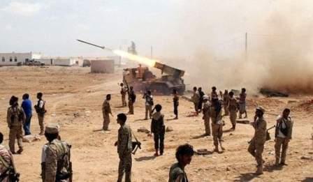 الجيش اليمني واللجان يقصفون مرابض مدفعية سعودية بجيزان