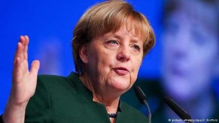 ميركل: الاتحاد الأوروبي ملتزم بتعهداته تجاه تركيا بشأن اللاجئين