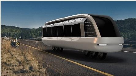 تطوير دراجة بحجم الحافلة لنقل الركاب