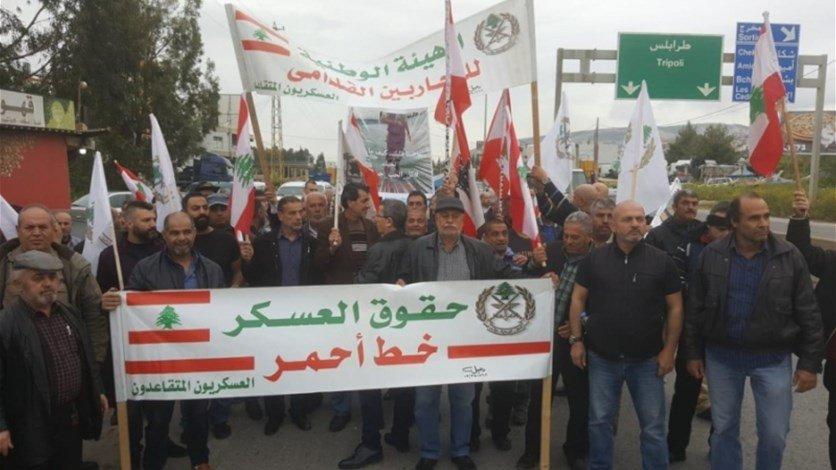 حراك العسكريين المتقاعدين: إستمرار التصعيد بوجه السلطة