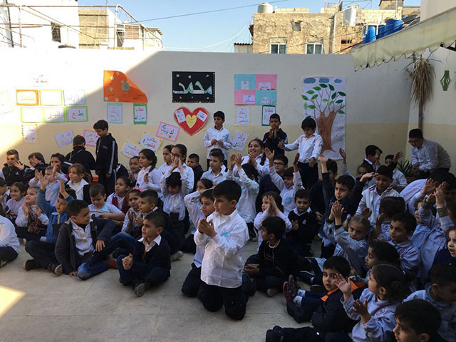 بالصور ... مدارس مؤسسة معروف سعد تحتفل بالمولد النبوي الشريف