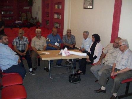 اللجنة الصحية الفلسطينية تُدشن إنطلاقتها بورشة عمل بعنوان: العمل الصحي في المخيم واقع وآفاق ــ الأمن الدوائي